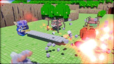3D Dot Game Heroes - El único límite es tu imaginación