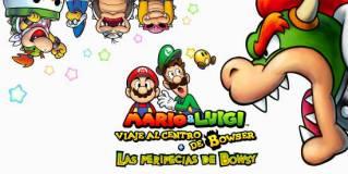 Análisis Mario & Luigi: Viaje al Centro de Bowser y Las peripecias de Bowsy - 3DS