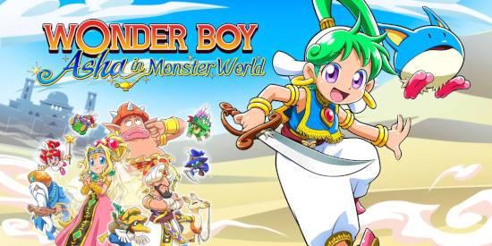 Análisis Wonder Boy: Asha in Monster World - Una joya traída del lejano oriente