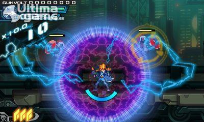 Una introducción al sistema de juego de Azure Striker Gunvolt, en vídeo