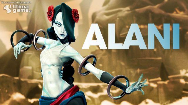 Así lucha Alani, el poder bruto del agua