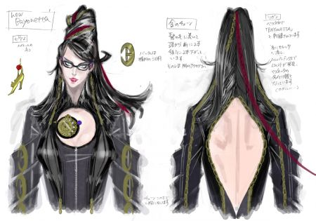 La bruja Bayonetta imagen 1
