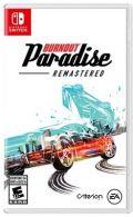 portada Burnout Paradise Nintendo Switch