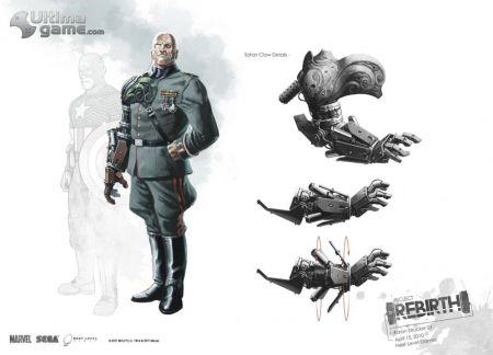Galería de ilustraciones con los enemigos del Primer Vengador imagen 2