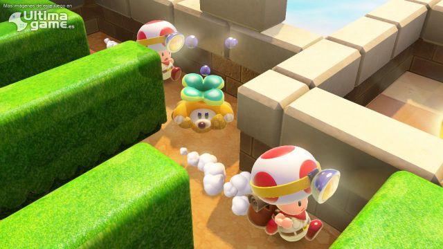 Sácale partido al Amiibo de Toad en Capitan Toad: Treasure Tracker