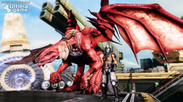 La lucha contra un gigantesco jefe final de Crimson Dragon, en un nuevo tráiler