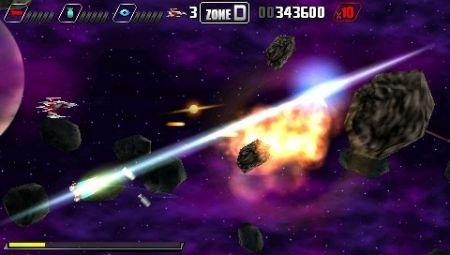 Darius Burst - La pequeña nave... Con un enorme potencial para el combate
