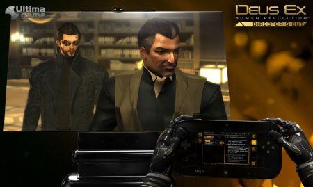 Los usos del mando de Wii U en Deus Ex: Human Revolution Director