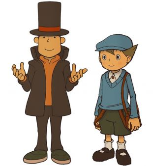 El Profesor Layton y Luke  imagen 1