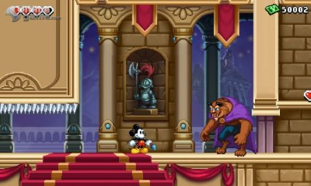 Mickey visita Agrabah para pedirle ayuda a Aladdin