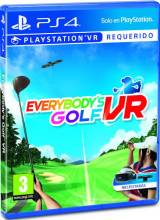 Everybody's Golf VR PS4