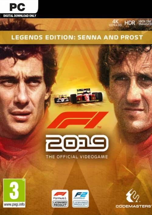 F1 2019 Legends Edition: Senna y Prost