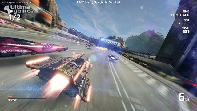 Así es FAST Racing Neo, el juego de carreras más rápido de la nueva generación