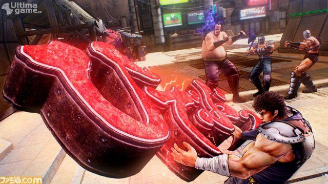 Kenshiro se transforma en el Dragon de Dojima