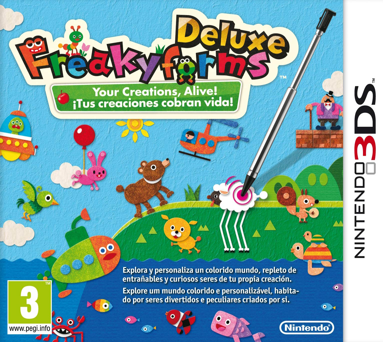 Freakyforms Deluxe: ¡Tus creaciones cobran vida!