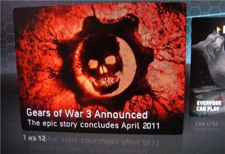 Gears of War 3 - La gran apuesta de Xbox 360 para 2011 dejará a la competencia hecha cenizas