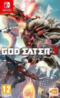 portada God Eater 3 Nintendo Switch