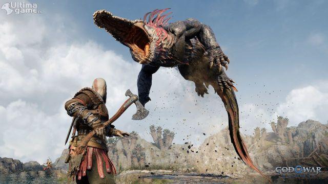 Sony nos muestra un poquito más su nuevo God of War, y se lía gorda imagen 2