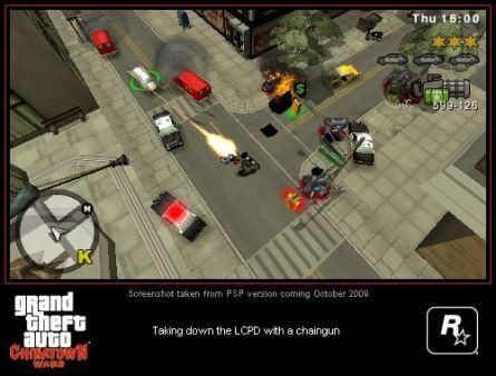 GTA Chinatown Wars nos muestra su poderío en la portátil de Sony