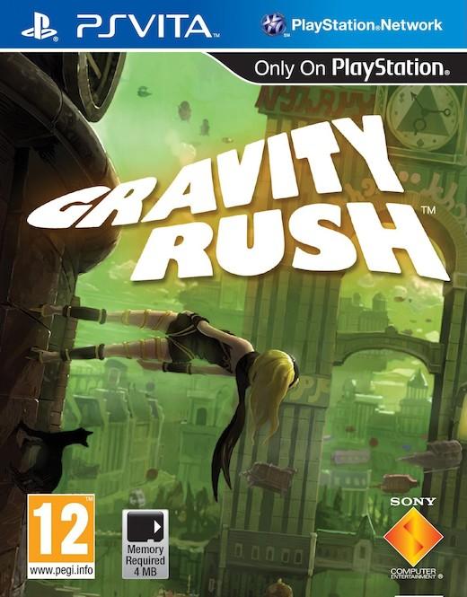 Portada de Gravity Rush