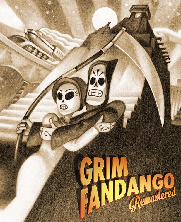 Portada de Grim Fandango Remastered