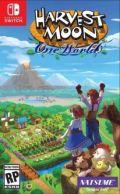 Harvest Moon: Un Mundo Único portada