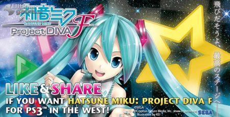 La cantante virtual más simpática se prepara para asaltar PS Vita con Hatsune Miku: Project Diva F