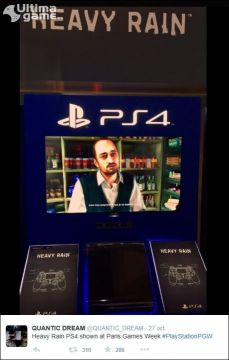 Sony desvela la fecha de salida de Heavy Rain en PS4