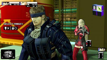 Artworks para Metal Gear Acid 2
