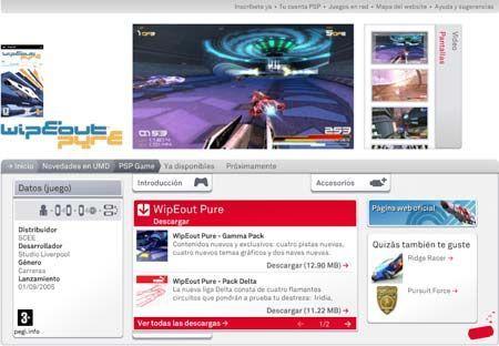 Sony lanza el segundo pack de expansión para Europa de WipeOut Pure