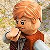 LEGO Jurassic World consola