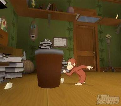 Primeras imágenes de Curious George, en su versión GameBoy Advance