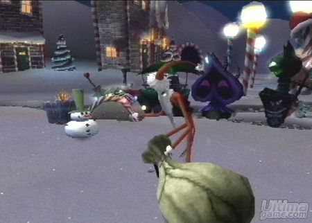 9 nuevas imágenes de Pesadilla Antes de Navidad: La venganza de Oogie para PlayStation 2