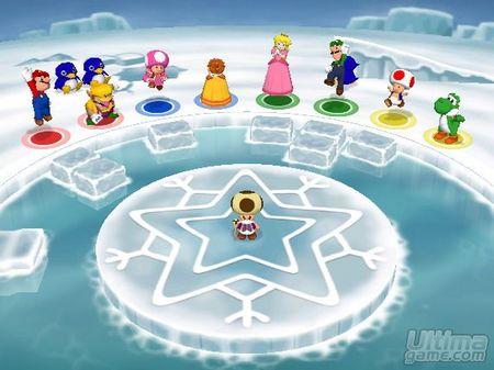 Montaña de imágenes de Mario Party 7