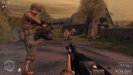 La versión Xbox 360 de Call of Duty 2, tiene un pequeño bug que bloquea el juego