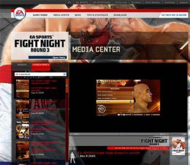 Fight Night Round 3 para PS3, en movimiento