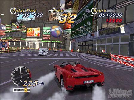 Primeras imágenes de la versión PlayStation 2 de OutRun 2006 Coast to Coast