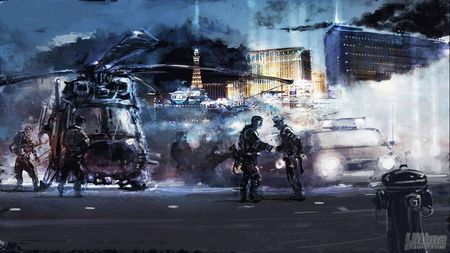 El casino Calypso, segunda localización en Rainbow Six Vegas
