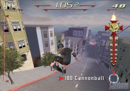 Playstation 2 recibirá una versión de Tony Hawk Downhil Jam