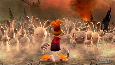 Descubrimos como será Rayman Raving Rabbids en Xbox 360 y Nintendo DS
