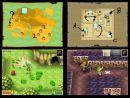 Imágenes de los menu de configuración de la Nintendo DS