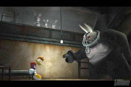 Los nuevos poderes de Rayman Raving Rabbids para DS te dejarán helado