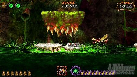 Más retos para el bueno de Sir Arthur en su primera aventura en PSP