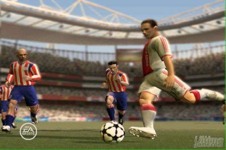 Real Madrid - Villareal en FIFA 07 de Xbox 360