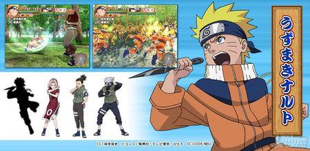 Nuevas imágenes de Naruto - Konoha Spirits para PS2