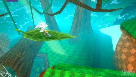 Nuevo vídeo de Sonic Rivals. Corre con el erizo supersónico.