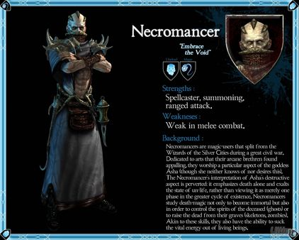 Necromancers, los magos oscuros en Dark Messiah of Might & Magic