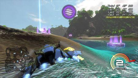Fatal Inertia EX, el juego de velocidad se estrena en PS3 con suculentas mejoras