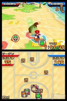 Galería de imágenes de Mario Slam Basketball