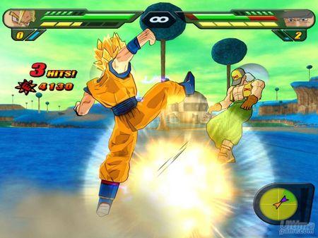 Budokai Tenkaichi 2 para Wii, en Marzo de 2007